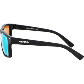 Alpina Kosmic Gafas, black matt/neon yellow mirror